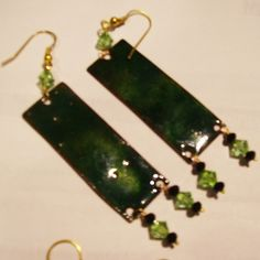 #earring #orientalstyle #handmade #brilliant #green #fashion #jewel #jewelry #pendant