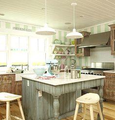 Coastal kitchen.