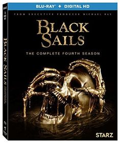 BLACK SAILS * COMPLETE SEASON 3 NEW FACTORY SEALED  STARZ 2017