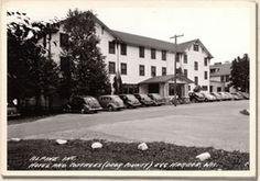Alpine Resort main lodge years ago.
