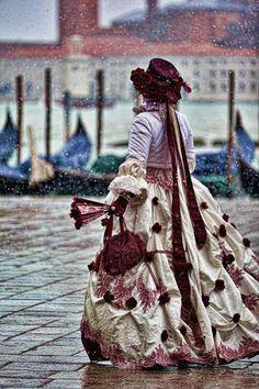 Venice Carnival Snow http://viaggi.asiatica.com/