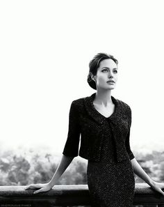 Angelina Jolie. Not only beautiful but brave and courageous. A pioneer who will help save many lives. Bravo!