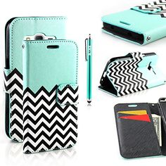 Galaxy Core Prime G360 Case, Galaxy Prevail LTE Case, RANZ® Stylish Design Deluxe PU Leather Folio Flip Book Wallet Pouch Case Cover (Teal Waves) For Samsung Galaxy Core Prime G360 / Samsung Galaxy Prevail LTE with Touch Stylus RANZ http://www.amazon.com/dp/B00WVU2A3W/ref=cm_sw_r_pi_dp_.775vb1D6AE8R