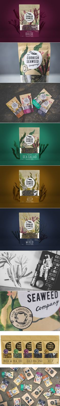 There's No Need to Dive Deep For These Seaweed Treats — The Dieline   Packaging & Branding Design & Innovation News