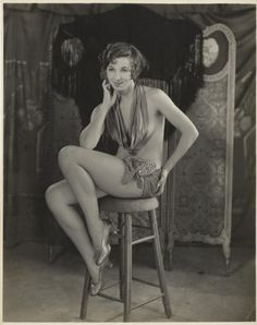 Famous singer and actress Fanny Brice from the time she was a Ziegfeld Follies girl, ca. 1915.