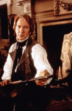 Alan Rickman in Sense and Sensibility. RIP. Another great actor whose presence and voice can never be replaced.