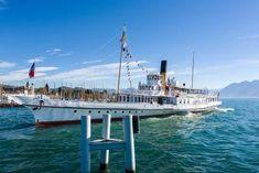 M/S Vevey - ABVL | Association des amis des bateaux à vapeur du Léman Vevey, Motor Yachts, Paddle Boat, Classic Motors, Marina Bay Sands, Sailing Ships, Switzerland, Boats, Europe