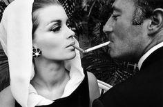 the smoker stare down pic!