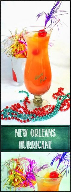 Florida Hurricane The legendary New Orleans Classic Tiki Cocktail with a Florida twist. Mostly Orange Juice and the normally 7 ounces of booze is moderated to only 2. But plenty of fruit juice flavors and just enough liquor to be VERY Sociable! Happy Mardi Gras!