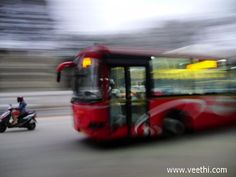 High Class Airport Bus At Bangalore