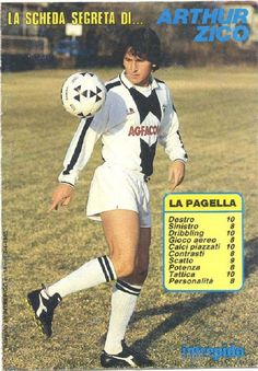 "Arthur Antunes Coimbra, ""ZICO"" Udinese Calcio, 1983."