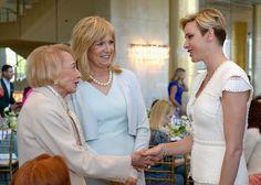 Princess Charlene of Monaco Received The Blue Ribbon Award
