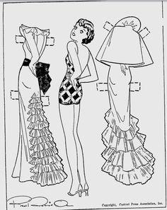 Etta Kett paper doll Berkeley Daily Gazette - Jun 1, 1935