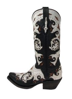Lucchese Since 1883 Women's M5016 Leather Boots,Studded Scarlette Black/Natural,5 B US Lucchese http://www.amazon.com/dp/B0078O6QB8/ref=cm_sw_r_pi_dp_nK0Uub1XDD39M