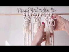 How to make a Macrame Diamond Tassel Macrame Hanging Chair, Macrame Curtain, Macrame Plant Hangers, Macrame Design, Macrame Art, Macrame Projects, Macrame Bracelet Tutorial, Macrame Bracelets, Loom Bracelets