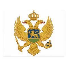 """""""Montenegro is one of the oldest states in Europe, and in the past 10 centuries it went through various forms of independent existence and alliances with other Balkan nations and states. Albania, Montenegro Flag, Bosnia Y Herzegovina, Double Headed Eagle, National Animal, Family Crest, Coat Of Arms, Herb, Tartan"""