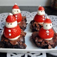 Santa Brownies , luvluvluv
