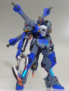 GUNDAM GUY: HGBF 1/144 Crossbone Gundam Cerberus - Customized Build Gundam Toys, Gundam 00, Gundam Build Fighters, Gundam Mobile Suit, Gundam Custom Build, Cool Robots, Gunpla Custom, Cerberus, Star Trek Ships