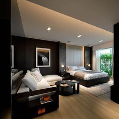 If your bedroom is big enough to accommodate a sitting area, go for it! #decor #design #decorating #designtips #interior #instagood #interiors #interiordecor #interiordesign #interiordecorating #home #house #homedecor #homedesign #homedecorating #style #picoftheday #highend #luxury #luxuryliving #love #furniture #homeaccessories #bedroom #inspiration #instadesign #contemporarydesign #moderndesign