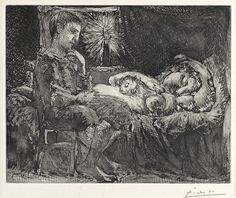 Boy and Sleeper in the candle (1934)