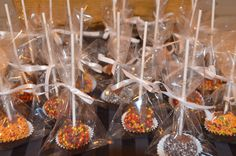 Individually wrapped Cakepops