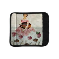 Kess InHouse Suzanne Carter 'The Gardener' Luggage Handle Wrap