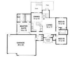 House Plans from 1300 to 1400 square feet | Page 1