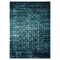 Anchor your living room seating group or define space in the den with this loomed wool and art silk rug, featuring an overdyed Persian-inspired motif for tim...