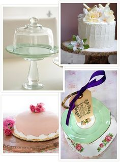 DIY Cake Stands For Your Wedding