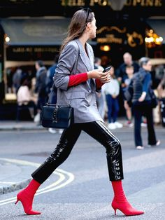 It's Time to Break Out the Leather Leggings Again