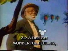 """Zip a Dee Doo Dah"" from Walt Disney's ""Song of the South"" (1948)."