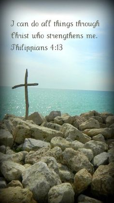 Philippians 4:13 My favorite Bible verse! Have to say this to myself a lot!! <3