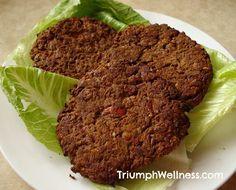 Dr. Fuhrman's Amazing Bean Burgers #vegan #thestarchsolution