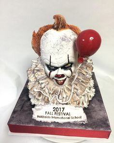Pennywise cake!!