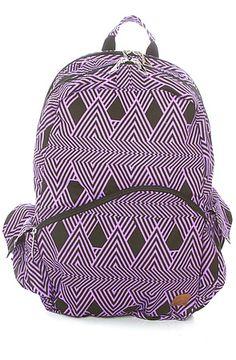 volcom backpack going study black floral karmaloop: #MissKL #MissKLCoachella