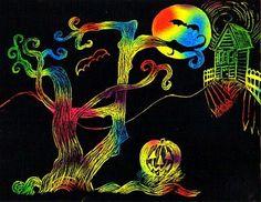 48 Johiux Easter Scratch Art Paper , Scratch Art Crafts f/ür Kinder , Scratch Art Notes Pappkartons