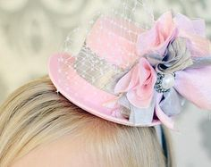 alice in wonderland tea party hat ideas - Google Search