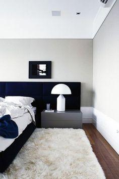 Random Inspiration 250 - UltraLinx Gray Bedroom, Trendy Bedroom, Modern Bedroom, Bedroom Wall, Bedroom Decor, Bedroom Lamps, Wall Lamps, Double Bedroom, Bedroom Lighting