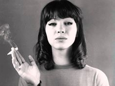 """""""Every movie has to have a little sexy in it otherwise who is going to go and see it?"""" http://www.anothermag.com/design-living/8242/anna-karina-talks-bardot-and-inspiring-jean-luc-godard"""