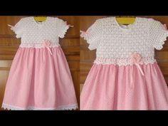 Teje todo en Crochet Nº 02 - YouTube Baby Dresses, Summer Dresses, Crochet Baby, Crochet Patterns, Youtube, Fashion, Self, Crochet Baby Dresses, Summer Outfit