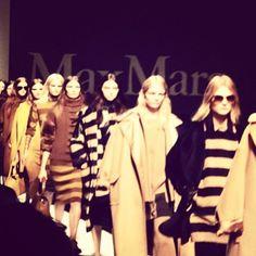 Max Mara FW 2013/14 #fashionblogger #fw14 #fashiondailygoestomilan #milan #maxmara #loveit #loveit #instafashion - @daria_kunilovskaya- #webstagram