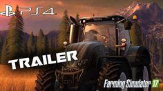 Farming Simulator 2017 PS4  Trailer 1080 60fps