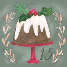 Day 15: vegan Christmas pudding 😉