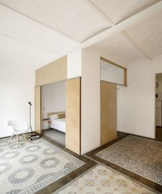 Dwell - 1930s Barcelona Apartment Gets a Minimal Makeover