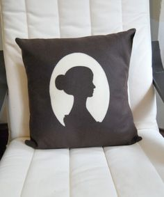 cameo pillow, kinda cool