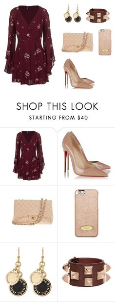 """Untitled #215"" by nadiralorencia on Polyvore featuring Free People, Christian Louboutin, Chanel, MICHAEL Michael Kors, Marc by Marc Jacobs and Givenchy"