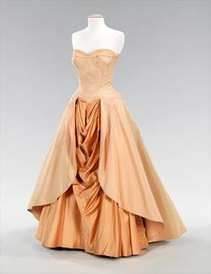 Charles James ball gown, 1948.
