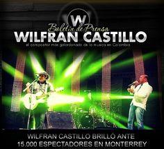 Wilfran Castillo – Brilló ante 15000 espectadores en Monterrey – #Noticias #Vallenato !