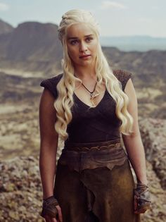 Emilia Clarke as Daenerys Targaryen in episode 5 'The Door', season 6 of Game of Thrones