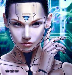 How to Create a Human Cyborg Photo Manipulation in Adobe Photoshop Futuristic Makeup, Futuristic Robot, Robot Costumes, Scary Costumes, Cyborg Costume, Robot Makeup, Arte Cyberpunk, Cyberpunk Fashion, Human Cyborg